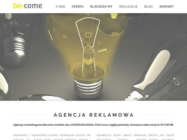 Agencja Marketingowa BeCome • Branding poznań